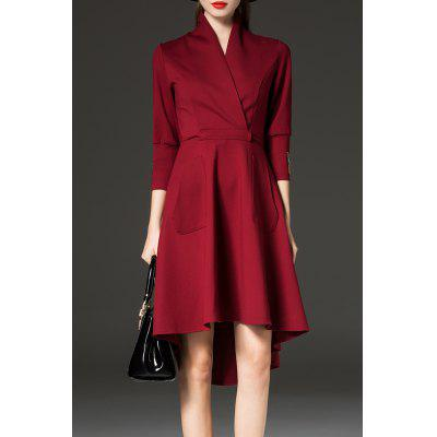 High Low Coat Dress