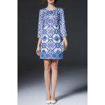Geometric Print Sheath Dress deal