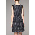 cheap Elegant Pockets Printed Dress