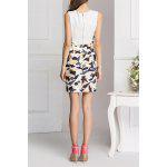 Buy Sleeveless Printed Bodycon Mini Dress 2XL COLORMIX