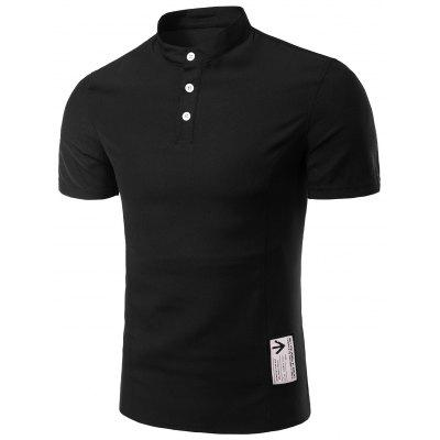 Buy Short Sleeve Polyester T Shirts, BLACK, M, Apparel, Men's Clothing, Men's T-shirts, Men's Short Sleeve Tees for $13.52 in GearBest store