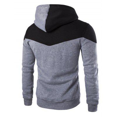 IZZUMI Hooded Long Sleeves HoodieMens Hoodies &amp; Sweatshirts<br>IZZUMI Hooded Long Sleeves Hoodie<br><br>Material: Cotton, Polyester<br>Package Contents: 1 x Hoodie<br>Shirt Length: Regular<br>Sleeve Length: Full<br>Style: Fashion<br>Weight: 0.5910kg