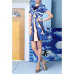 best Straight Geometric Pattern Dress
