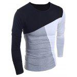 Buy BLACK, Apparel, Men's Clothing, Men's T-shirts, Men's Long Sleeves Tees for $12.45 in GearBest store