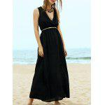 Buy BLACK, Apparel, Women's Clothing, Women's Dresses, Maxi Dresses for $24.64 in GearBest store