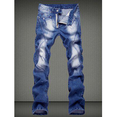 Casual Straight Legs Denim Pants For Men
