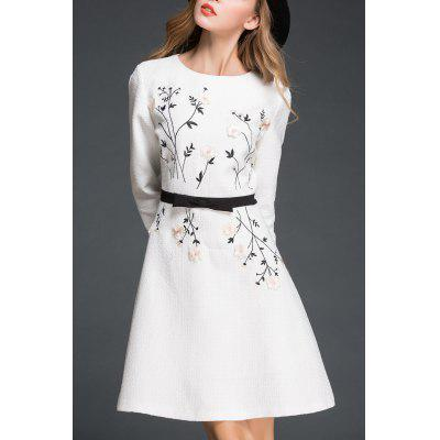 Lady Style Stereo Flower Dress