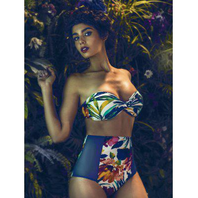 Floral Printed Bikini Set For Women