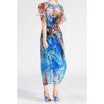 cheap Bohemian Style Printed Maxi Dress