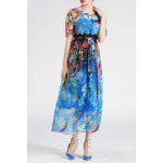 Bohemian Style Printed Maxi Dress deal