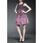 Fitting Flower Print Tank Dress deal