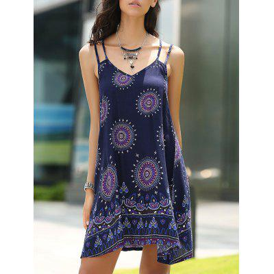 Bohemian Strappy Backless Dress For Women