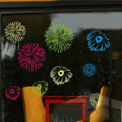 Fireworks Wallstickers Home Decoration