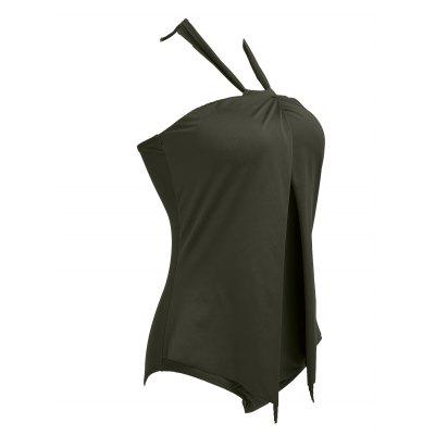 Halter Backless One Piece SwimwearWomens Swimwear<br>Halter Backless One Piece Swimwear<br><br>Bra Style: Padded<br>Elasticity: Elastic<br>Gender: For Women<br>Material: Nylon, Polyester<br>Neckline: Halter<br>Package Contents: 1 x Swimwear<br>Pattern Type: Solid<br>Support Type: Wire Free<br>Swimwear Type: One Piece<br>Waist: Natural<br>Weight: 0.3200kg
