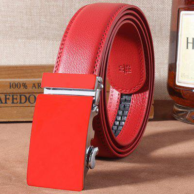 Stylish Automatic Buckle Simple Belt For Men