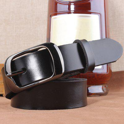 Vintage Style Pin Buckle Wide Belt For Women
