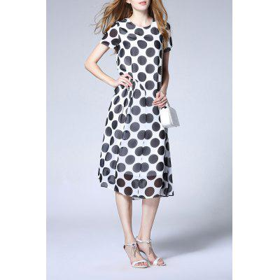 Polka Dot Pattern Dress