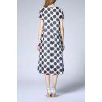 cheap Polka Dot Print Dress