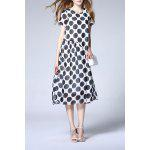Polka Dot Print Dress for sale