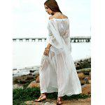 Off The Shoulder Waisted Cover Up Dress photo
