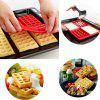 Hot Sale Oven Baking DIY Tool Waffle Pancakes Mold - RED