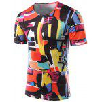 Buy COLORFUL, Apparel, Men's Clothing, Men's T-shirts, Men's Short Sleeve Tees for $11.75 in GearBest store