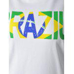 best Casual Round Neck Colorful Letter Print Short Sleeve T-Shirt For Women