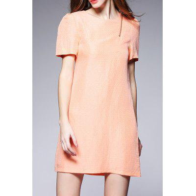 Solid Color Mini Dress