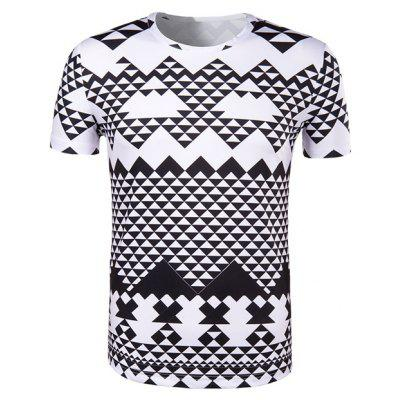 Black And White T Shirt for Men