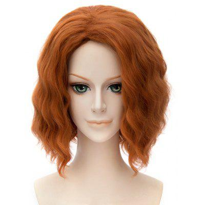 Fluffy Synthetic Cosplay Wavy Medium Wig