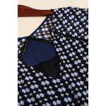 best Asymmetric Hem Polka Dot Dress