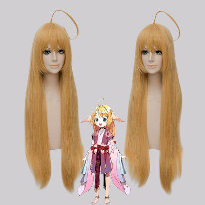 Fashion Synthetic Straight Cosplay Long Straight Wig