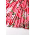 Flower Print Pleated Dress photo