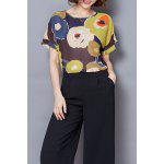 Chiffon Abstract Print Tee deal