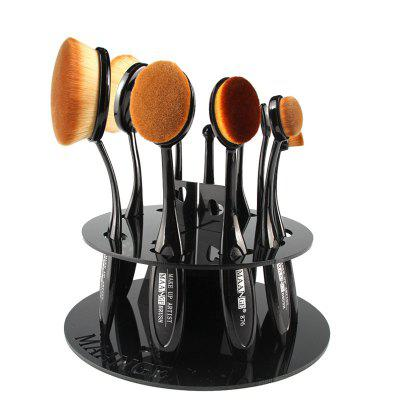 Stylish Round Brushtree Brush Holder Brush Display Stand