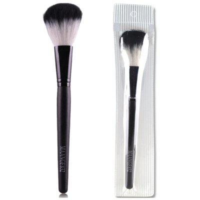 Buy BLACK Stylish Wooden Handle Soft Nylon Blush Brush for $4.72 in GearBest store