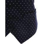 Buckle Belt Polka Dot Formal Waistcoat for sale