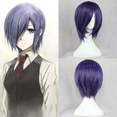 Vogue Short Straight Side Bang Synthetic Cosplay Wig