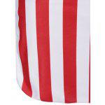 American Flag Bandeau Cover Up - COLORMIX