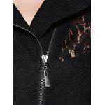 Sweet Long Sleeve Lapel Zipper Fly Lace Jacket photo