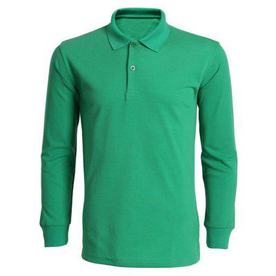 Long Sleeve Green T Shirt