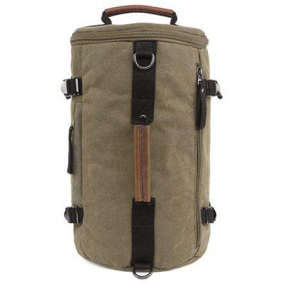 Leisure Zippers and Canvas Design Backpack For Men