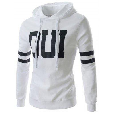 Izzumi Letter Pullover Hoodie