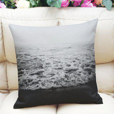 Fresh Style Home Decor Sea Weave Square Pattern Pillow Case