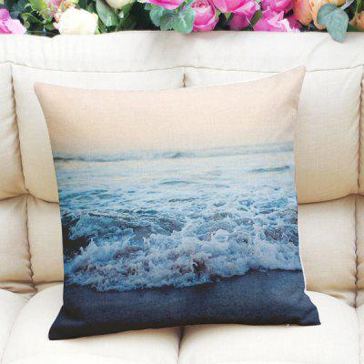 Fresh Style Home Decor Ocean Weave Square Pattern Pillow Case