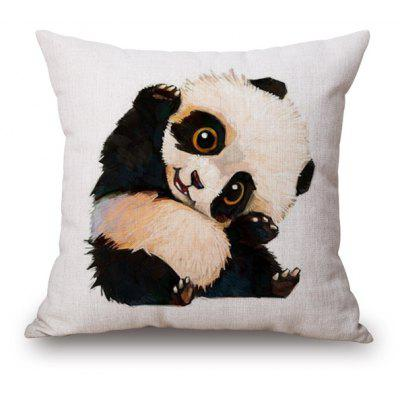 Cartoon Kung Fu Panda Design Sofa Pillow Case