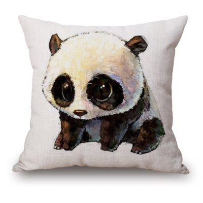 Cartoon Panda Print Sofa Cushion Throw Pillow Case $8 92 line