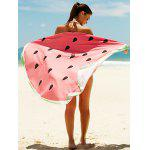 Watermelon Pattern Sun Resistant Cover Up - WATERMELON RED