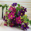 Sweet A Bouquet of Room Decoration Artificial Orchid Flower - PURPLE