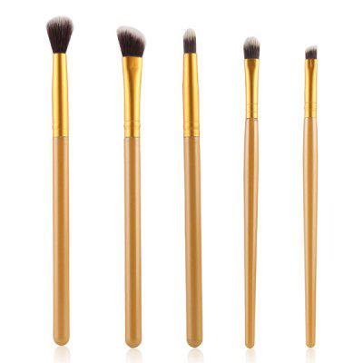 Stylish 5 Pcs Smokey Eye Nylon Eye Makeup Brushes Set